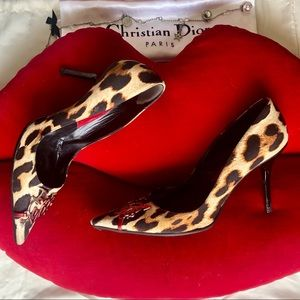 Christian Dior 🔴SOLD🔴Sexy Leopard Heels 🐆